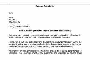 How to open your own in home bookkeeping service 3rd for Sample marketing letter for bookkeeping services