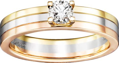 crn4204200 trinity solitaire white gold yellow gold pink gold diamond cartier