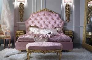 Lit Style Baroque : d co chambre rococo ~ Teatrodelosmanantiales.com Idées de Décoration