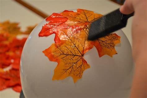 diy fall leaves diy fall leaf bowl
