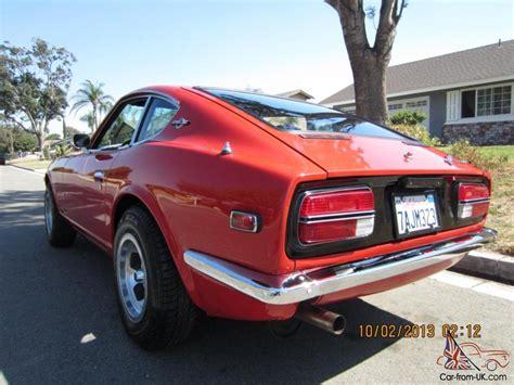Datsun 350z For Sale by 1971 240z Series 1 Color 905 4 Speed Restored 280z 350z