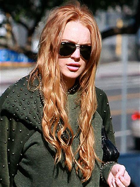 lindsay lohan red hair color  hairstyles