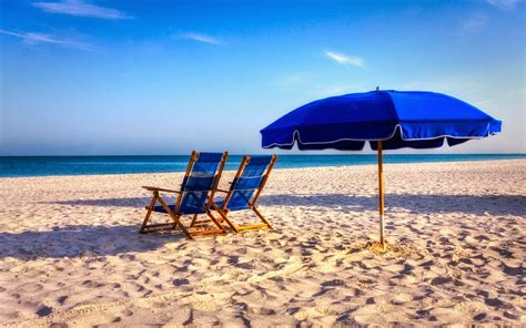Summerbeach Chair Wallpapers Hd  Desktop Wallpapers Free