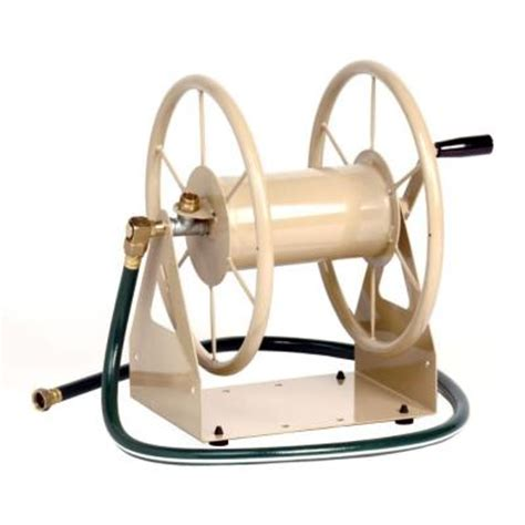 liberty garden 200 ft 3 in 1 hose reel 703 the home depot