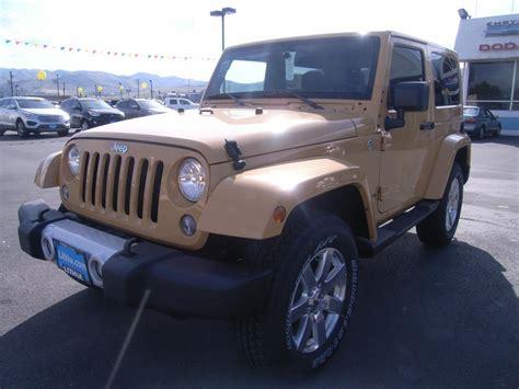 2014 Jeep Wrangler Sahara 4x4 Sahara 2dr Suv Suv 2 Doors