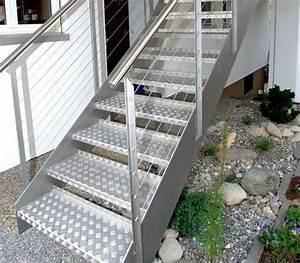 Escalier En Colimaçon Pas Cher : escaliers ext rieurs design marches m tal ou bois ~ Premium-room.com Idées de Décoration