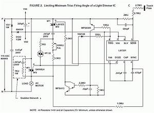 Dimmer Ac Motor Speed Control Schematic