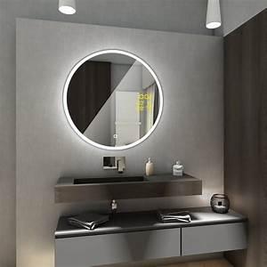 Spiegel Bad Led : delhi badspiegel mit led beleuchtung rund spiegel touch schalter wetterstation ebay ~ A.2002-acura-tl-radio.info Haus und Dekorationen