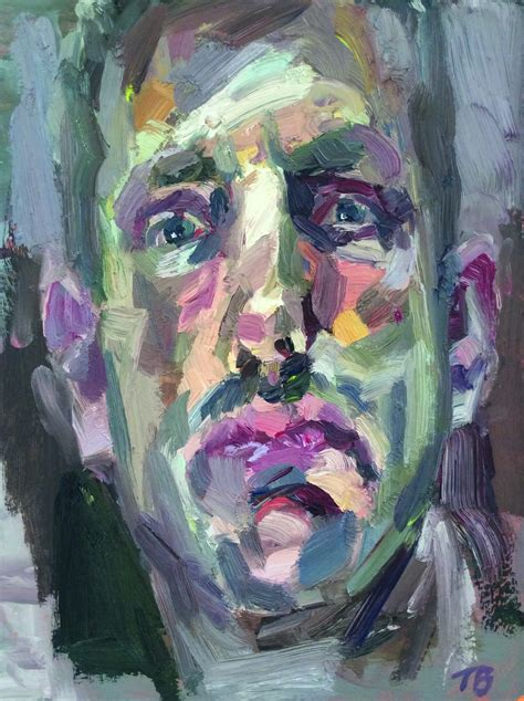 Expressive Portrait Painting   Mall Galleries