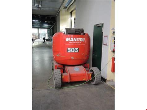 hubsteiger gebraucht kaufen manitou aettj c 150 elektro hubsteiger 500 sp 228 tere