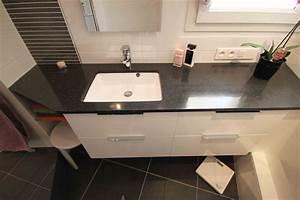 meuble vasque faible profondeur With salle de bain design avec vasque à poser faible profondeur