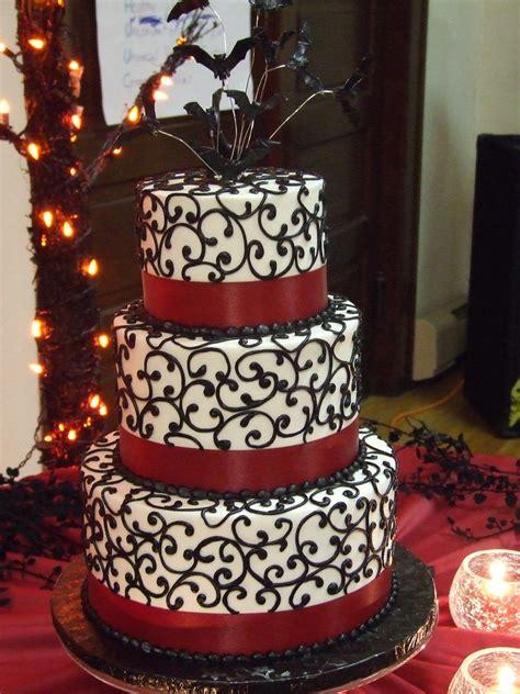 halloween wedding cake chocolate butter cream tinted