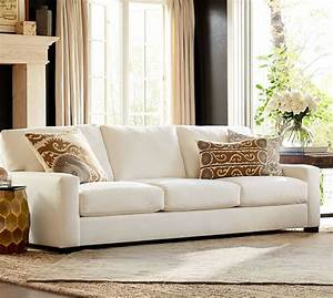 Turner square arm upholstered sofa pottery barn for Pottery barn turner sectional sofa