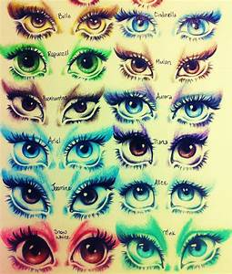 Disney Princess Eyes by KristaInWonderland on DeviantArt