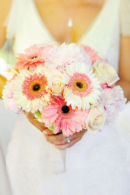 gerbera peony and rose bouquet flowers by lee forrest