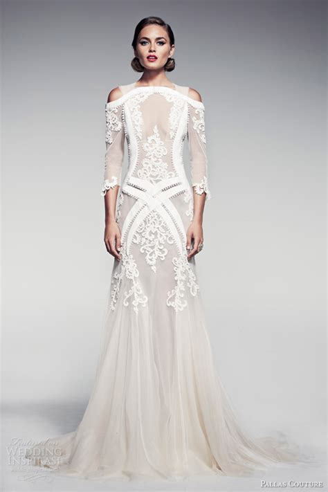 couture bridesmaid dresses pallas couture summer 2014 fleur blanche bridal collection wedding inspirasi