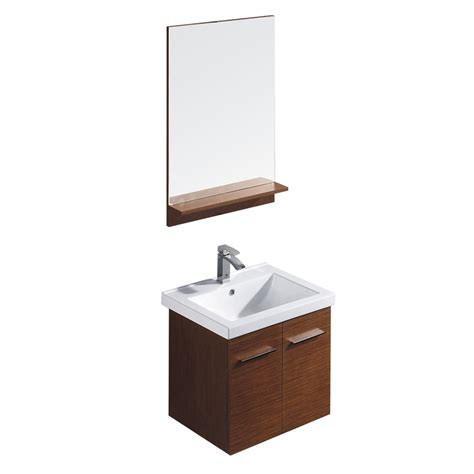 18 bathroom vanity with sink shop vigo wenge drop in single sink bathroom vanity with