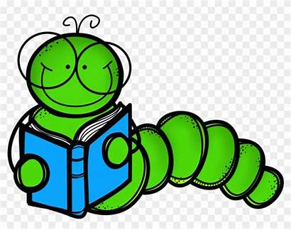 Worm Bookworm Clipart Cartoon Library Pngio Related