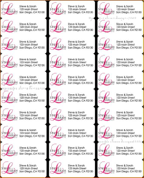 return address labels template 30 per sheet 4 template for address labels 30 per sheet lease template