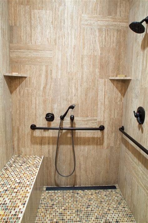bathroom designs  handicap showers messagenote
