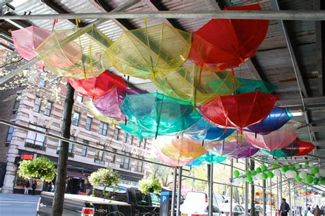 scaffolding owners business decorations creative umbrellas balloons upper west side dnainfo customers even flowers