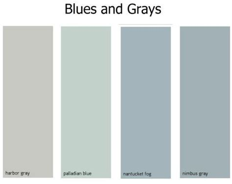 paint color nantucket gray sunroom nantucket fog benjamin color palette grey blue and and nantucket