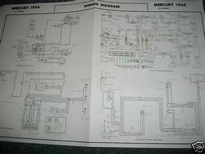 1964 Mercury Montclair Monterey Marauder Wiring Diagram