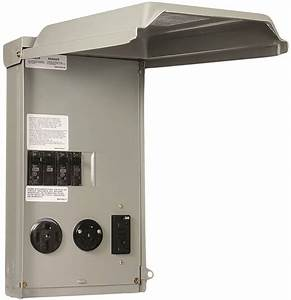Ge Ge1lu532ss Rv Power Outlet Panels  Outdoor