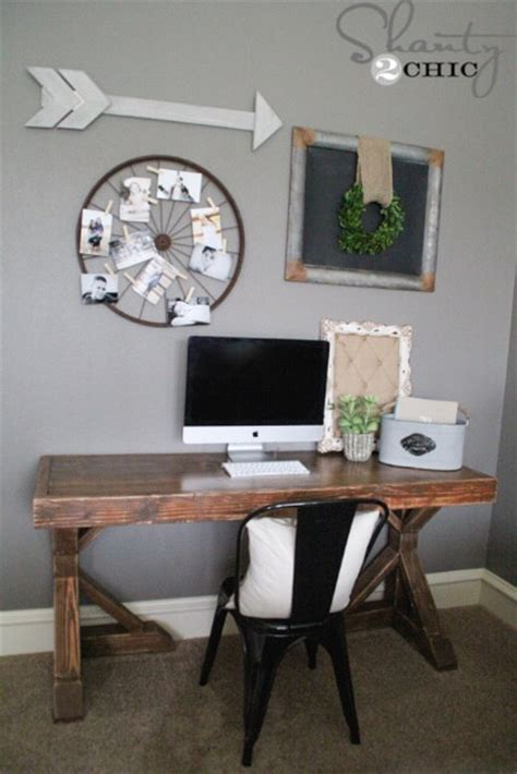 diy trestle desk  plans rogue engineer
