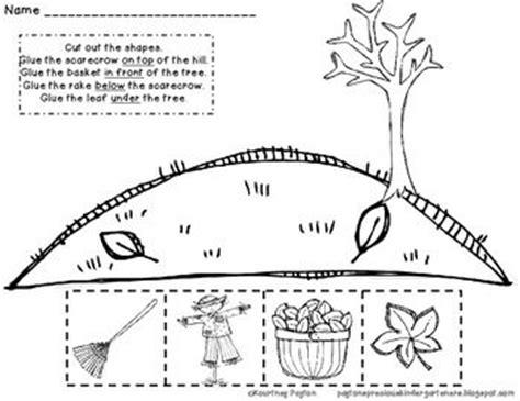 ideas about positional words kindergarten on