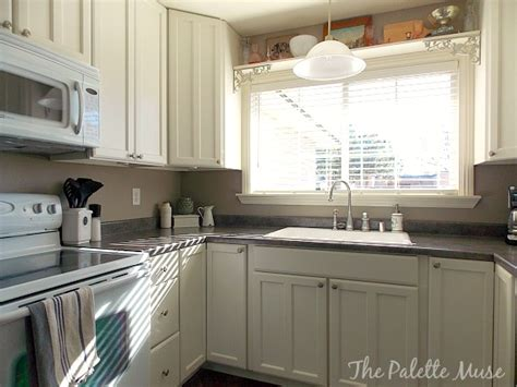 diy painted kitchen cabinets remodelaholic how to paint cabinet doors 6874