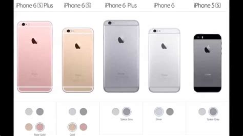 iphone 6 vs iphone 6s apple iphone 6 and iphone 6 plus vs iphone 6s and iphone
