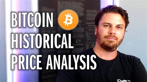 That's why you'll see different prices on different exchanges. Bitcoin Historical Price Analysis | Revisited - YouTube