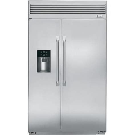 ge zispdhss monogram   built  side  side refrigerator   cu ft capacity