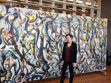 jackson pollock the mural a gallop through the getty and jackson pollock s mural frances schultz