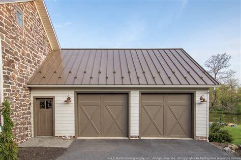 building showcase farmstead  medium bronze metal roof