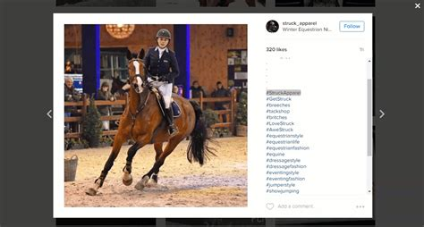 hashtags horse use branded mix