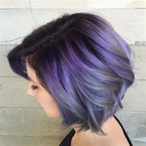 Best 25 Short Purple Hair Ideas On Pinterest Crazy