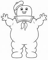 Stay Ghostbusters Coloring Pages Marshmallow Puft Drawing Ghostbuster Slimer Draw Stick Halloween Sketch Cartoon Ghost Busters Cartoons Festa Birthday Puff sketch template