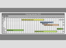 Training Calendar Template – 25+ Free Word, PDF, PSD