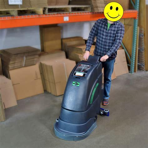 Automatic Floor Scrubber 18 Jl E by Unoclean 18fse Electric Floor Scrubber Walk