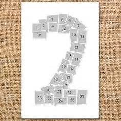 number photo collage template diy number photo collage using instagram prints free templates to help you lay out numbers 0 9