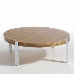 Table De Salon La Redoute : 10 tables basses canon pour habiller son salon table basse ronde la redoute d co ~ Voncanada.com Idées de Décoration