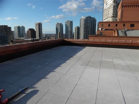 Roof Top Pavers  Solaris Roofing