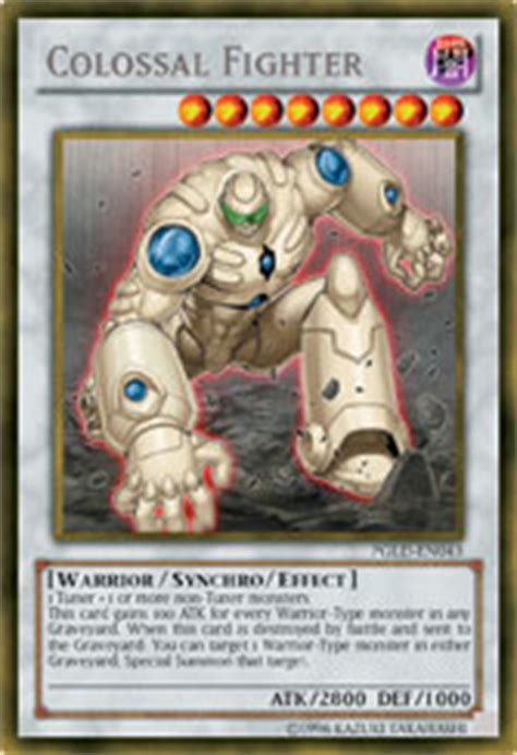 Junk Warrior Deck 2014 by Yu Gi Oh Trading Card 187 Colossal Fighter Breaks Through