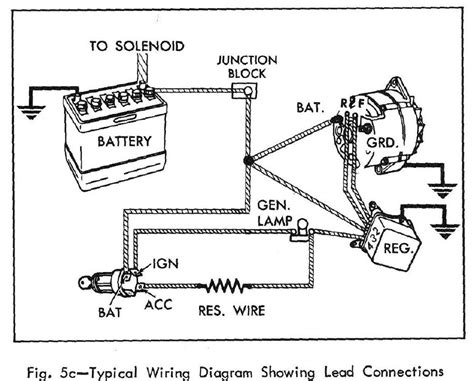 Automotive Alternator Diagram by Automotive Electrical System Testing Mdh Motors