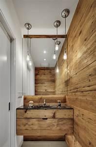 Bois Pour Salle De Bain : 30 id es d co des accents en bois pour votre salle de bains ~ Melissatoandfro.com Idées de Décoration