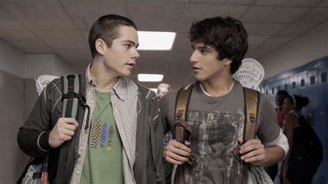 Scott And Stiles Teen Wolfs Tyler Posey And Dylan Obrien