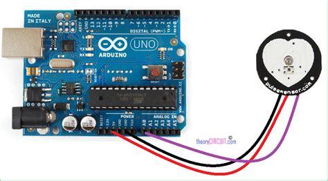 Heart rate (pulse) sensor - ELECTROBIST