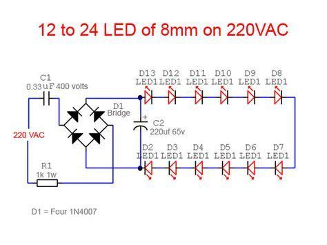 Led Bulb 9 C Wiring Schematic by Led Light Ac Electronic
